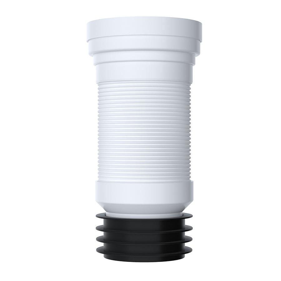 long flexible pan connector 300 700mm viva sanitary. Black Bedroom Furniture Sets. Home Design Ideas